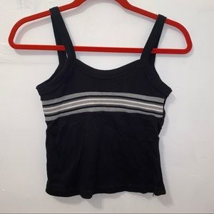 Vintage Tops - Vintage 90s skater sweater cropped tank top